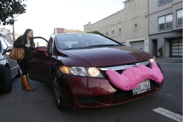 Auto taxislužby Lyft.
