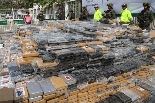 V roku 2014 zadržali v Kolumbii sedem ton kokaínu. Smeroval v kontajneri do holandského Rotterdamu.