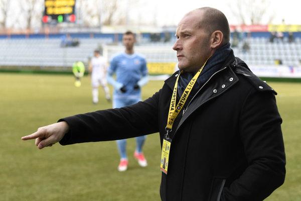 Tréner Michaloviec Anton Šoltis.