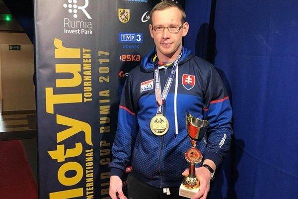 Štefan Nevedel pozbieral už veľa trofejí.