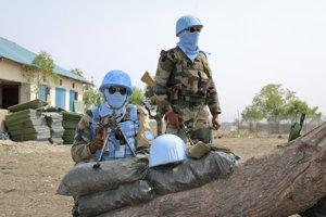 Mierové sily OSN v Južnom Sudáne.