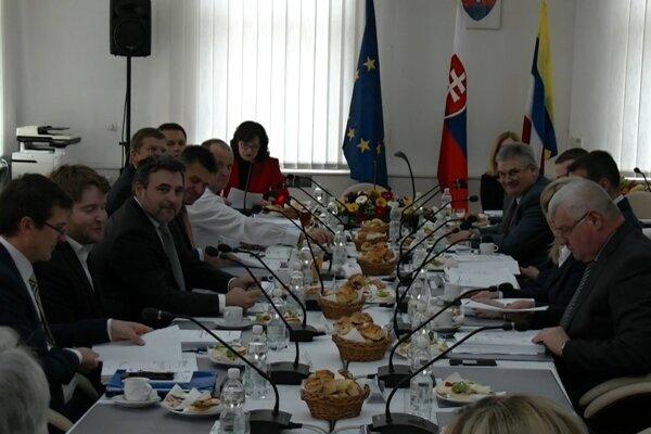 Výjazdové zasadnutie Vlády SR v Hnúšti.