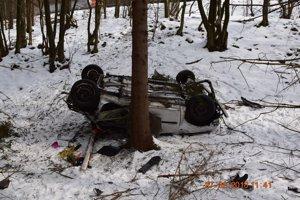 Nehoda v Novej Lehote.