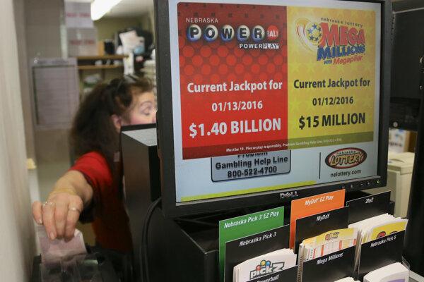 Podľa organizátorov ide o najväčší jackpot v americkej i svetovej lotérii pre jediného víťaza.