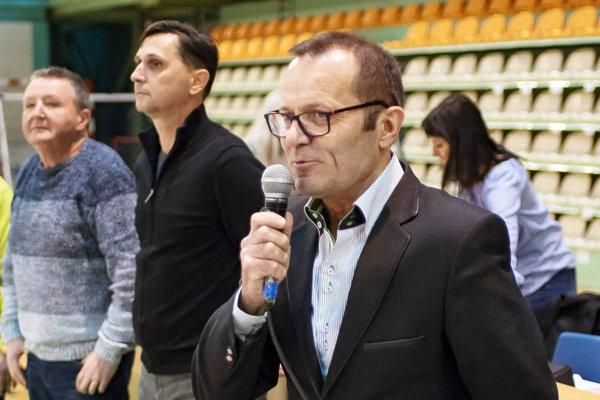Staronový šéf Západoslovenského futbalového zväzu Ladislav Gádoši.