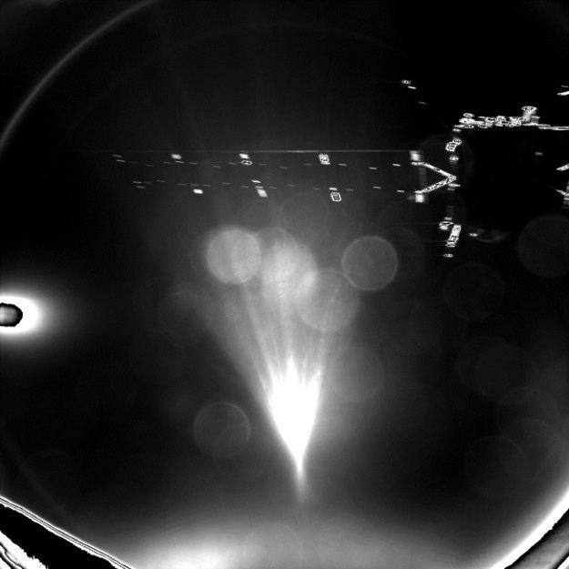 Philae sa odpája od materskej sondy Rosetta.