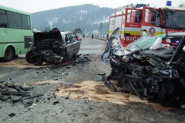 Nehoda pri Štefanove nad Oravou.