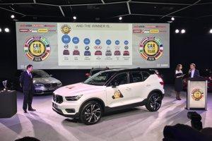 Víťazom ankety Auto roka 2018 sa stalo Volvo XC40.