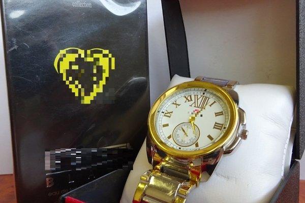 Podvodníci predávajú aj takéto hodinky.