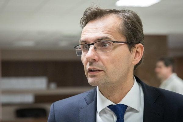 Predseda výboru na kontrolu činnosti Národného bezpečnostného úradu Ľubomír Galko.