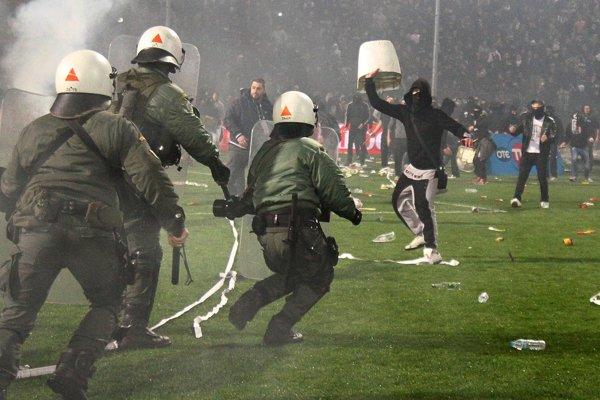 Fanúšikovia PAOK Solún patria k najagresívnejším v Európe.