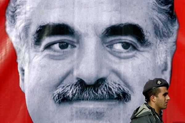 Bývalý libanonský premiér Rafík Harírí.