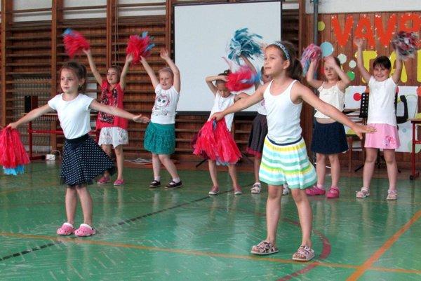 Žiaci ukázali aj rôzne podoby tanca