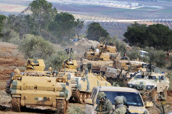Turci obsadili v sýrskom Afríne ďalšie dediny.