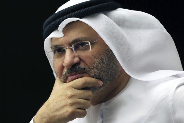 Minister zahraničných vecí Spojených arabských emirátov Anwar Karkáš.