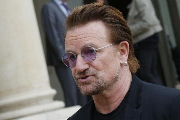 Frontman írskej hudobnej skupiny U2 Bono.