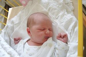 Terézia Kováčová (3300 g, 49 cm) sa narodila 28. februára Lucii a Martinovi z Dubnice nad Váhom. Doma už majú 1,5-ročnú Alžbetku.