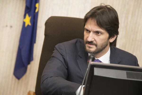 Minister Kaliňák na vláde.