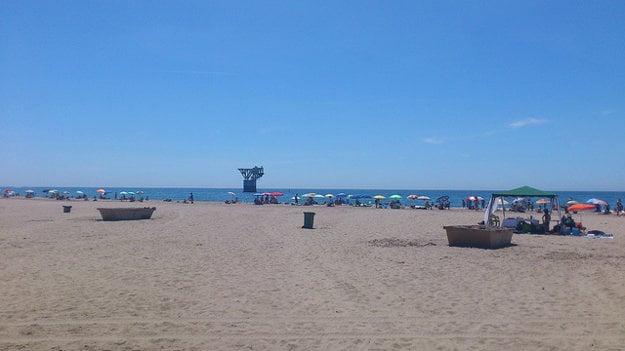 Marbella, pláž del Cable