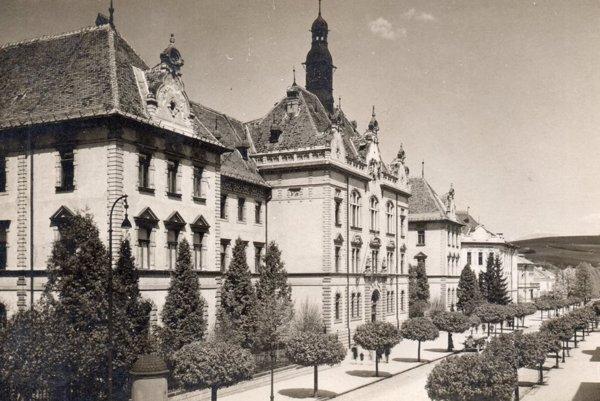 Skuteckého ulica v roku 1929