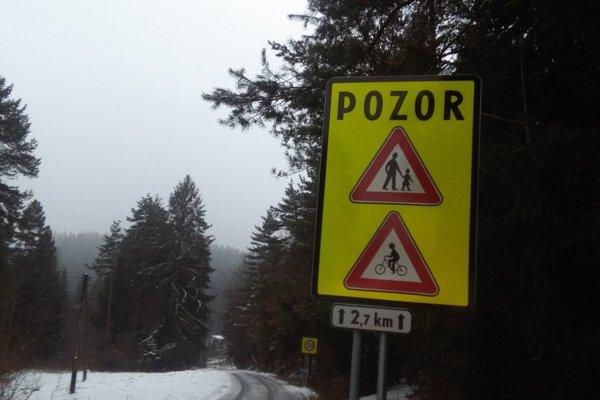 Cesta zostane otvorená len pre chodcov a cyklistov.