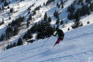 V Malej Fatre horskí záchranári ratovali zraneného lyžiara.