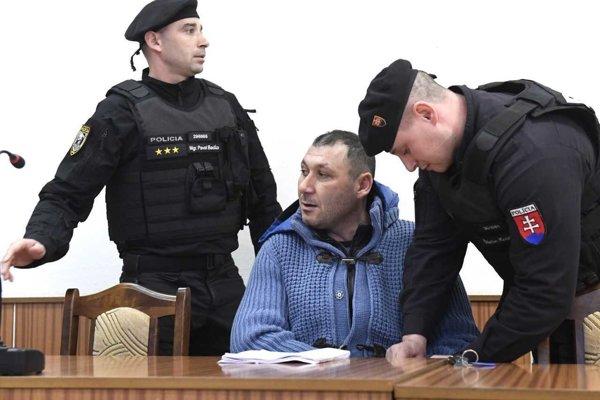 Antonino Vadala na košickom súde.