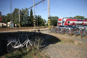 Bicykle mizli najmä z okolia železničnej stanice.