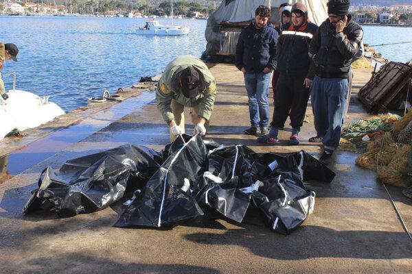 V Egejskom mori našli smrť ďalší utečenci.