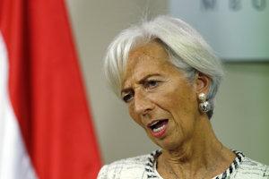 Bývalý šéfka Medzinárodného menového fondu (MMF) Christine Lagardeová.