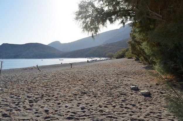 Na plážach oceníte pokoj a ticho prírody.