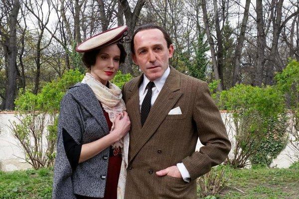 Lída Baarová a Joseph Goebbels - milostný pár vo filme Filipa Renča.