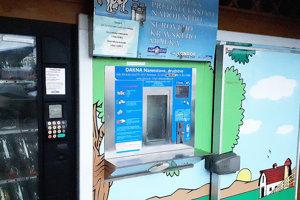 Námestovský automat je jeden zmála na Slovensku, ktorý funguje už desať rokov.