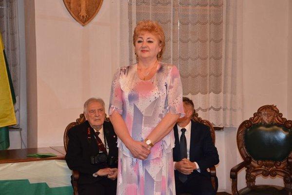 Soňa Řeháková si v novembri prevzala ocenenie osobnosti mesta Žilina