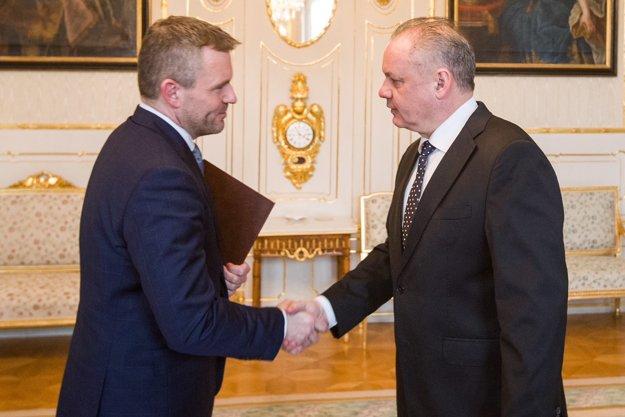 Pellegrini sa stretol s Kiskom.