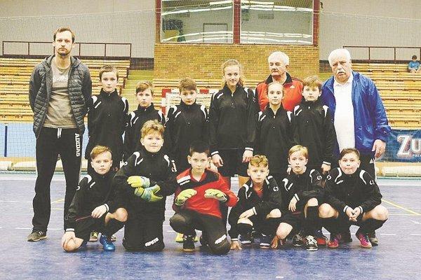 Straší Výber ObFZ Pov. Bystrica vyhral turnaj v Přerove.
