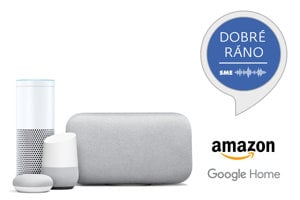 Podcast Dobré ráno je dostupný na Amazon Echo a Google Home.