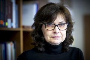 Odchádzajúca ministerka spravodlivosti Lucia Žitňanská.