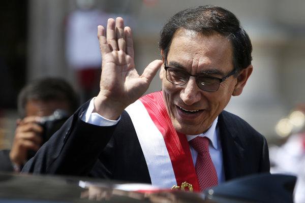 Vizcarra doteraz zastával post viceprezidenta.