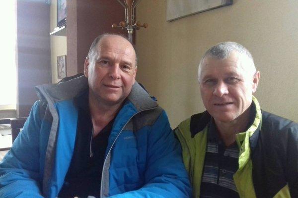 Pavel Lauko (vľavo) a Vojtech Tonhajzer