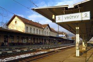 Železničná stanica Vrútky.