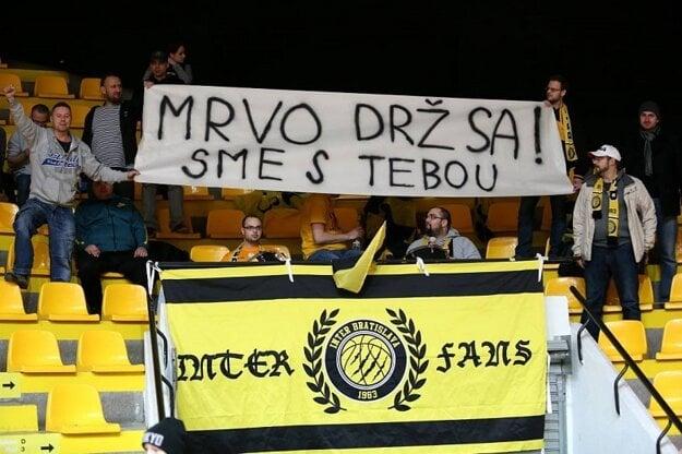 Odkaz od priaznivcov Interu.