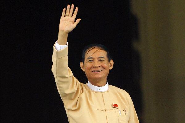Mjanmarský prezident Win Mjin.