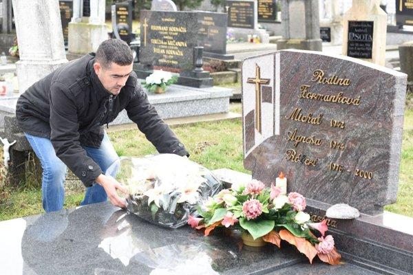 Marek Ujlaky si uctil pamiatku bývalého spoluhráča.