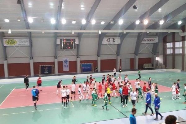 Halové majstrovstvá Slovenska ovládli Trenčania.