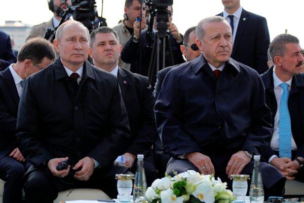 Putin s Erdoganom otvorili výstavbu novej jadrovej elektrárne.