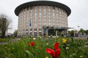 Sídlo Organizácie pre zákaz chemických zbraní (OPCW) v Haagu.