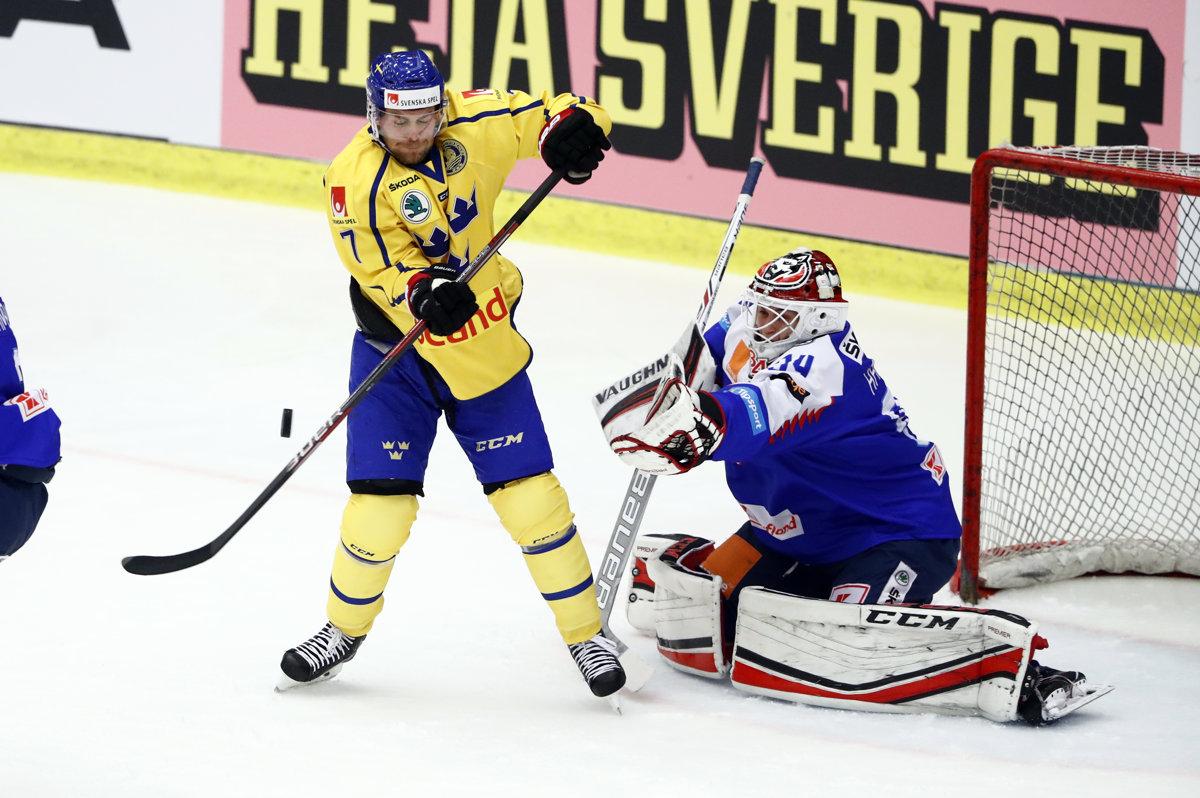 2282010385819 Slovensko : Švédsko - online prenos - hokej - EHC 2018 - Šport SME