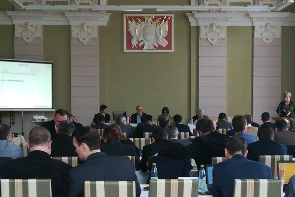 Výjazdové zasadnutie Zastupiteľstva BBSK.