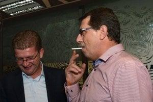 Pavol Paška bol známy fajčiar.